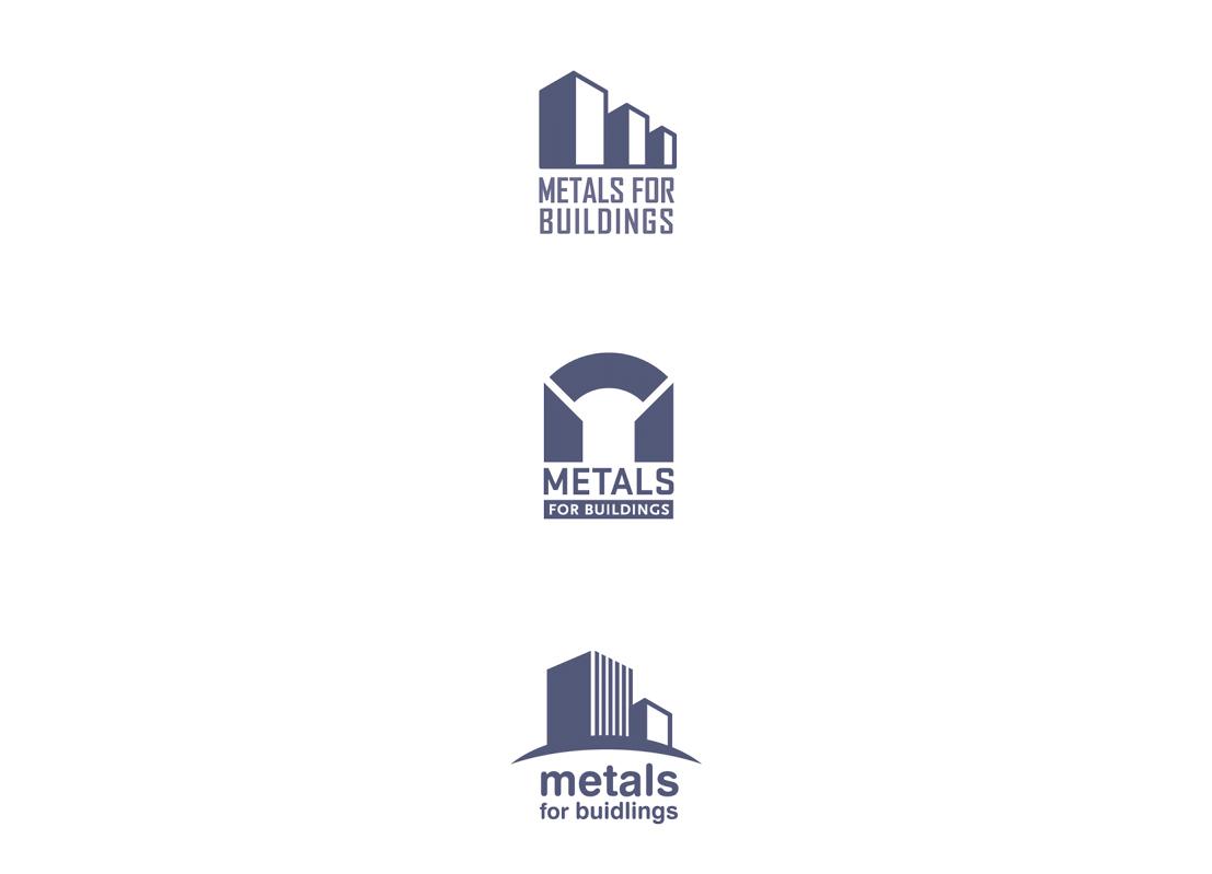 Propositions de logos pour l'industrie de l'aluminium.