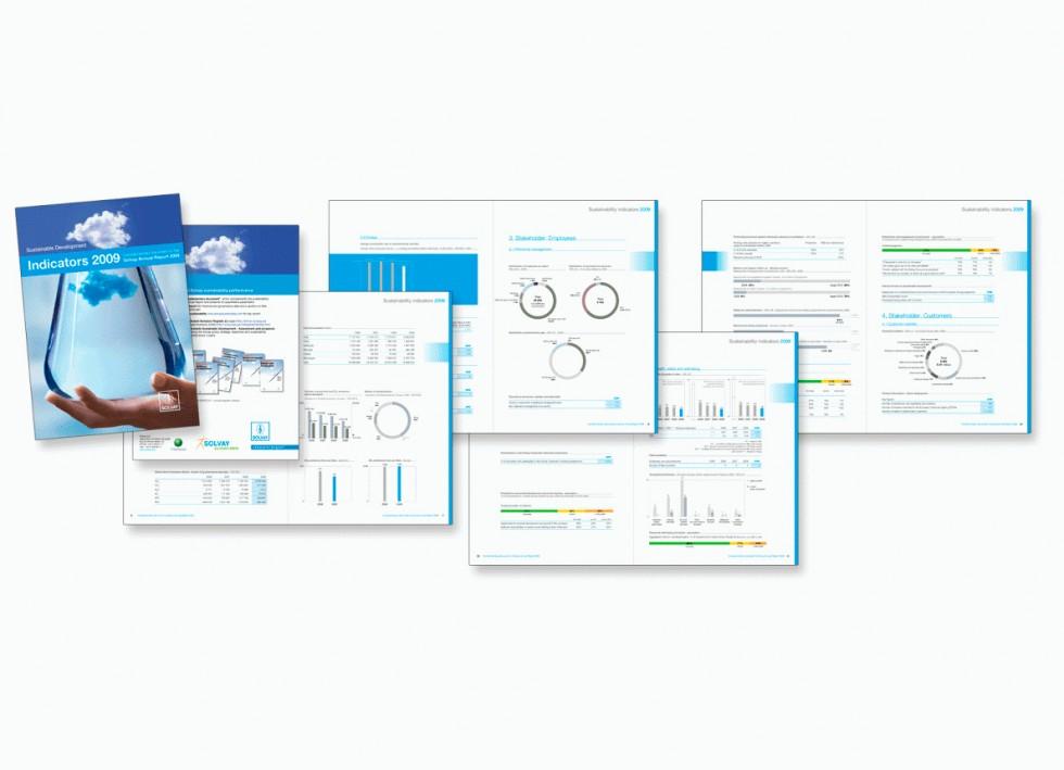 "Solvay Sustainabilty Report, rapport ""durabilité"""