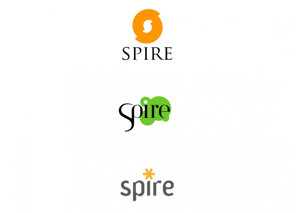 Propositions de logo pour SPIRE (Sustainable Process Industry through Resource and Energy Efficiency)