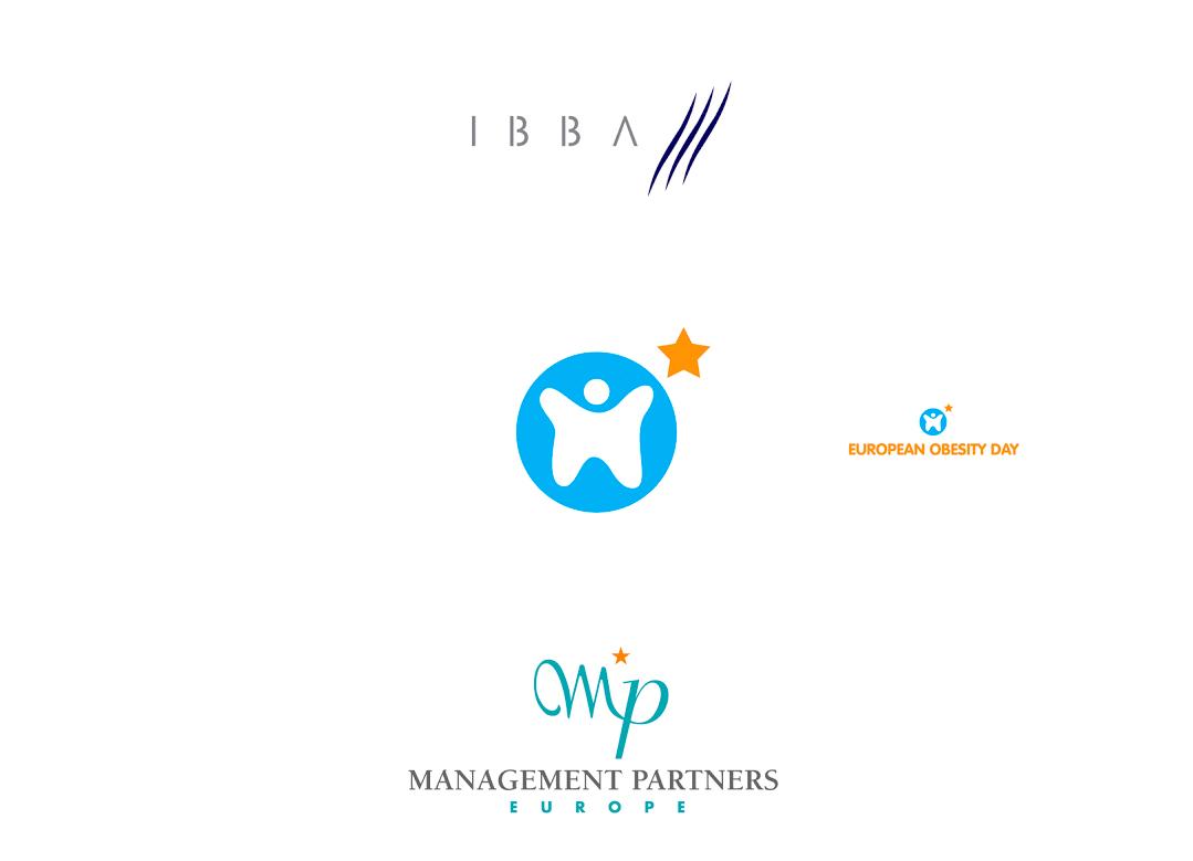 Logo pour la Chambre de commerce Belgo-Irlandaise, une initiative européenne contre l'obésité et une société de Conseil en affaires.