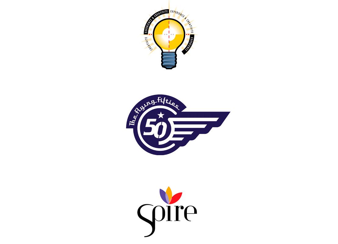 "Logo pour IMAGE PLUS, la patrouille aérienne ""Flying Fifties""et SPIRE (Sustainable Process industry through Resource and Energy Efficiency)"