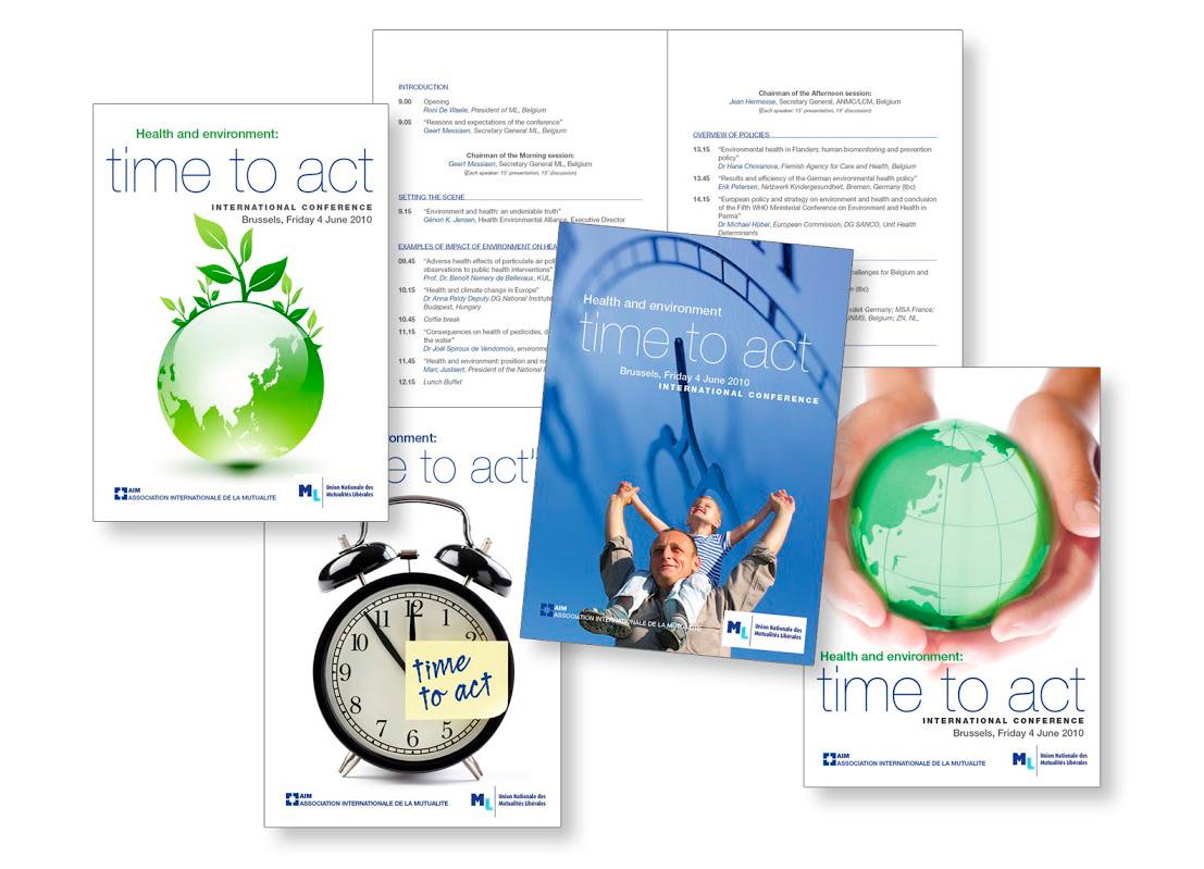 Programme pour AIM International Association of Mutual Benefit Societies).