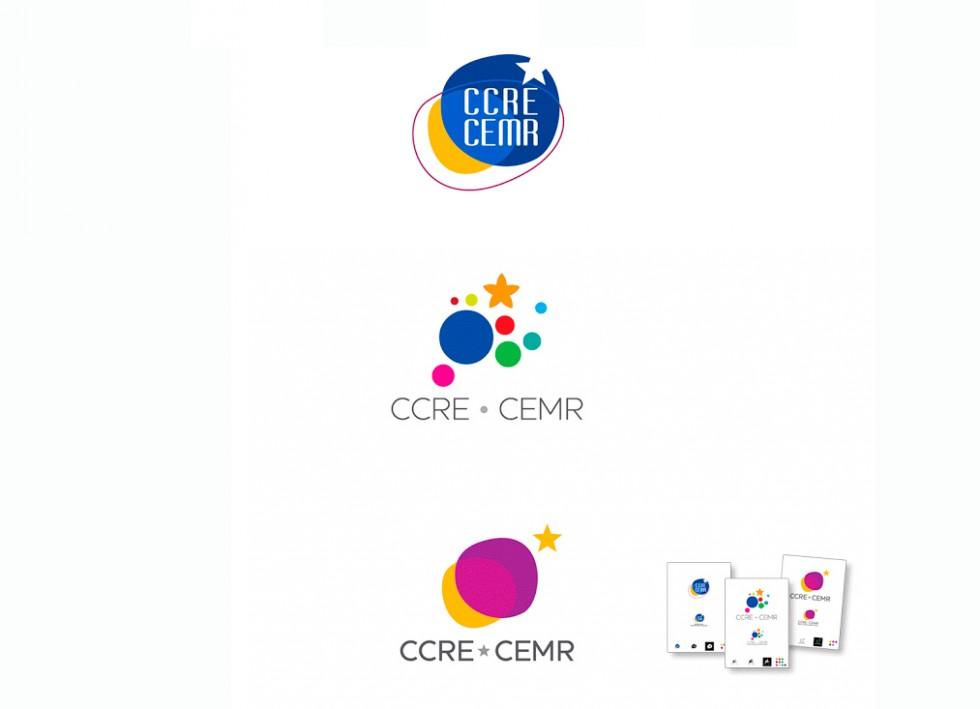CCRE CEMR Communauté des Communes et Régions d'Europe - Projet de logo.