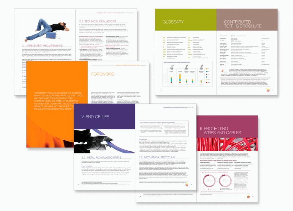Rapport annuel pour EFRA (Association Européenne des Retardateurs de Flamme - European Flame Retardants Association).