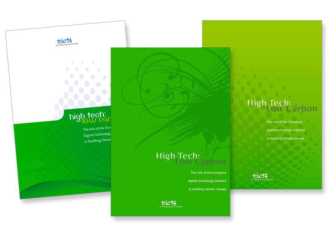 Brochure pour EICTA (European Information, Communications and Consumer Electronics Technology Industry Associations - Associations européennes d'information, communications et technologie d'électronique grand public).