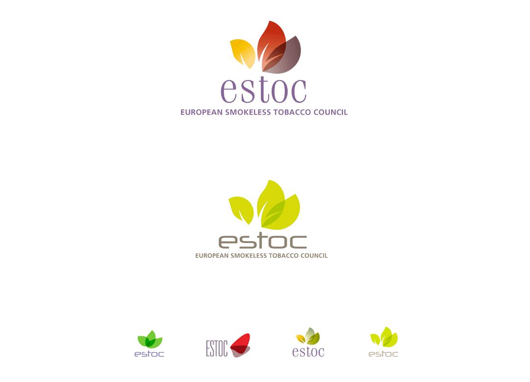 Proposition de logo pour l'association européenne des producteurs de tabacs à priser.