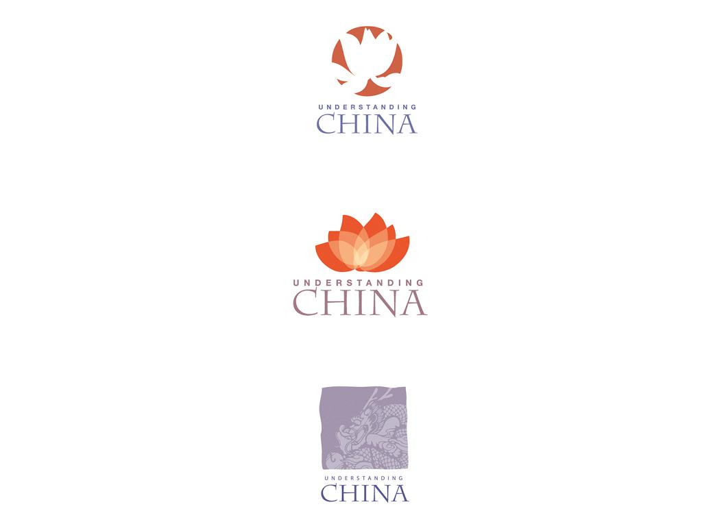 Projets de logo pour une programme Chine-Europe, mis en place par l'Association Européenne des Chambres de Commerce.