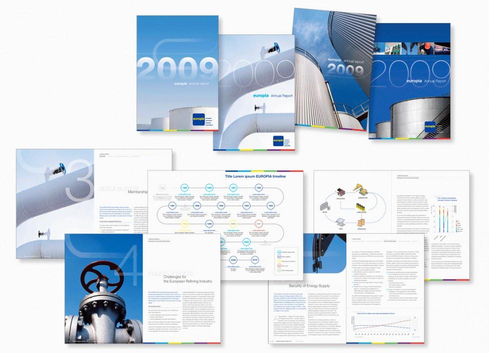 Rapport annuel pour EUROPIA, la représentation de l'industrie pétrolière auprès de l'Union européenne.
