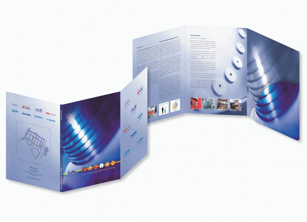 Brochure pour la FPME (Food Processing Machinery Europe).