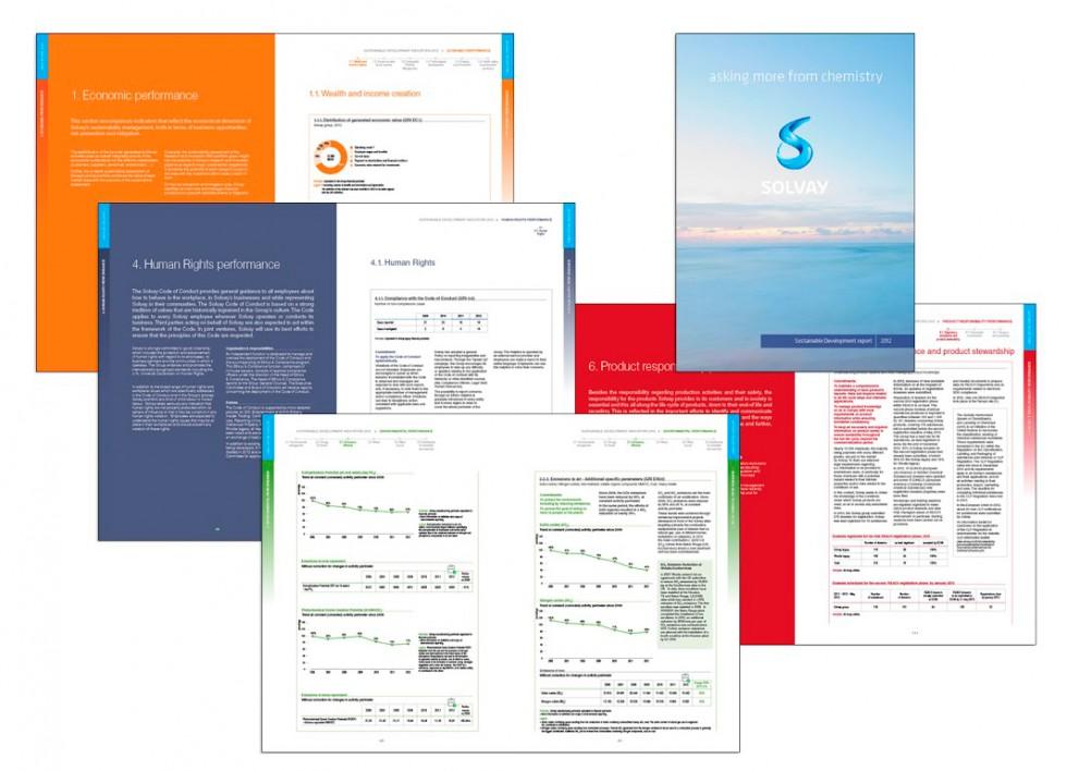 SOLVAY Sustainability indicators