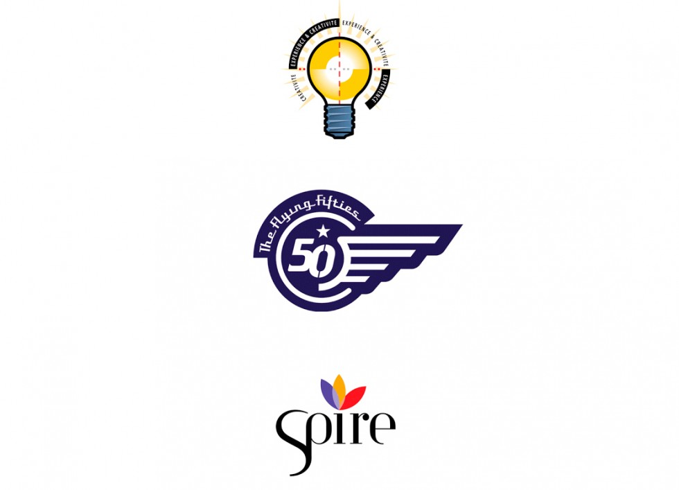 "Logo pour IMAGE PLUS, la patrouille aérienne ""Flying Fifties""et SPIRE (Sustainable Process industry through Resource and Energy Efficiency)"
