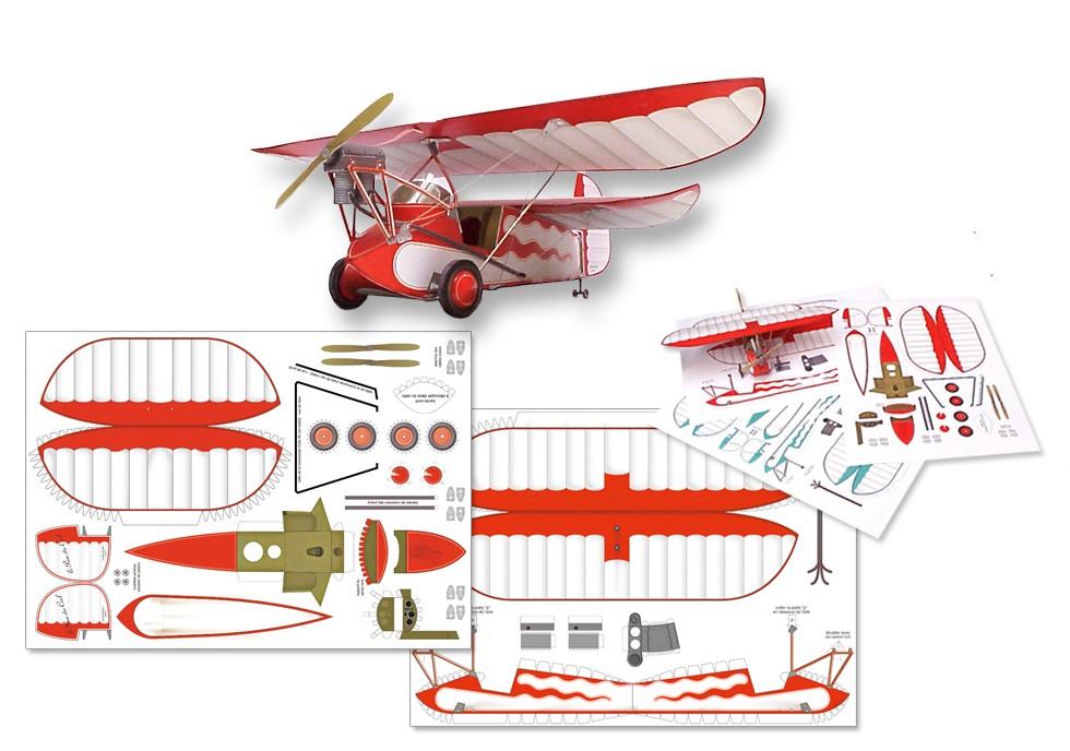 création maquette papier